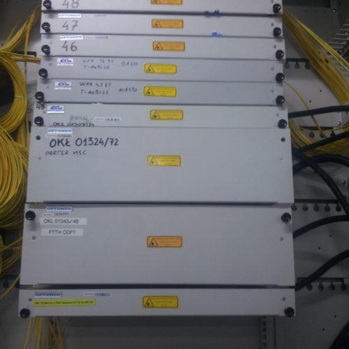 Projekt sieci w budynku
