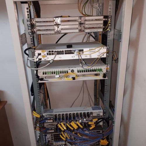 Skrzynka na kable internetowe