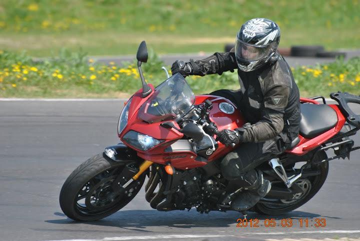 Zakręt motocykl