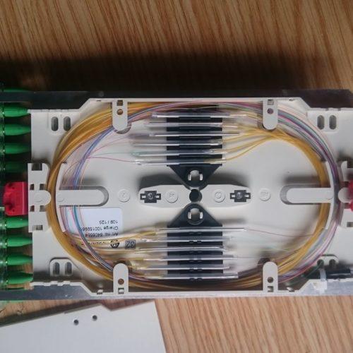 Kaseta światłowodowa szafki ulicznej